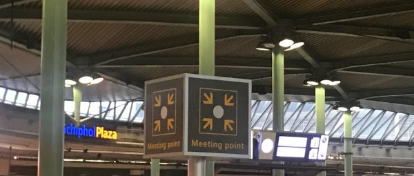 Amsterdam Taxi Online Meeting Point Schiphol